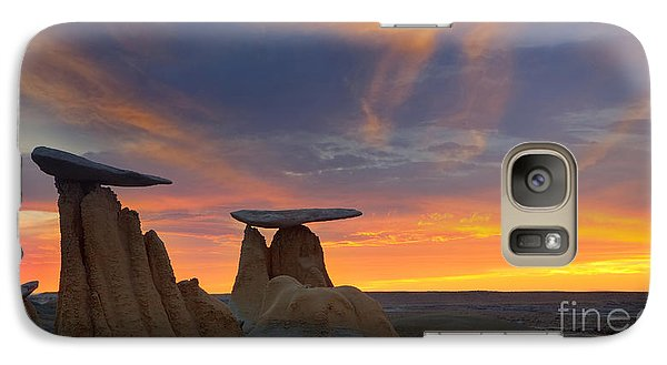 Galaxy Case featuring the photograph Fire In The Sky by Keith Kapple