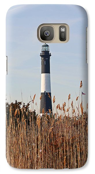 Galaxy Case featuring the photograph Fire Island Tower by Karen Silvestri