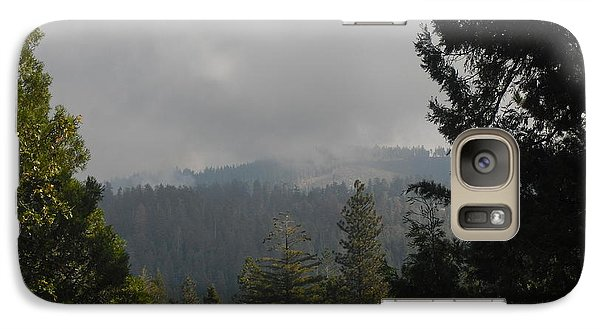 Galaxy Case featuring the photograph Fire On The Horizon by Kristen R Kennedy