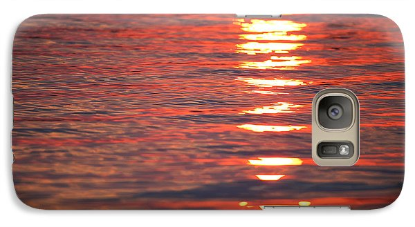 Fire On The Water Galaxy S7 Case