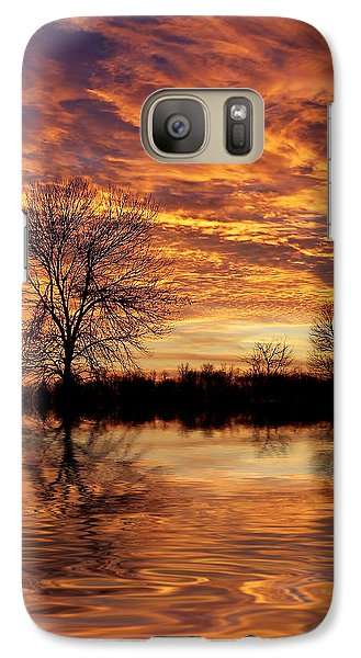 Fire Painters In The Sky Galaxy S7 Case