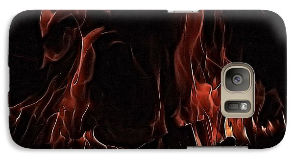 Galaxy Case featuring the photograph Fire by Rachel Hames