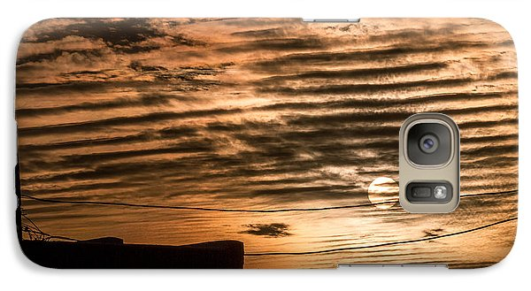 Galaxy Case featuring the photograph Fire Sky by Beverly Parks