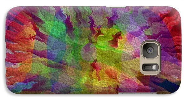 Galaxy Case featuring the photograph Fire Within by Kathie Chicoine