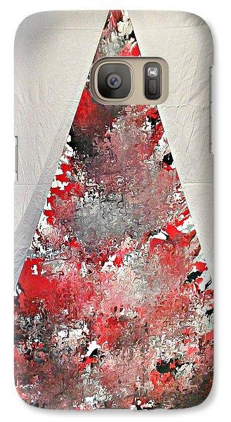 Galaxy Case featuring the painting Firehouse by Cyryn Fyrcyd