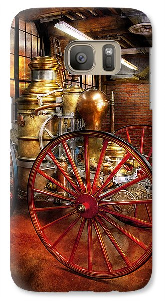 Fireman - One Day A Long Time Ago  Galaxy S7 Case