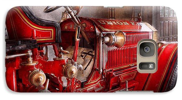 Fireman - Truck - Waiting For A Call Galaxy S7 Case