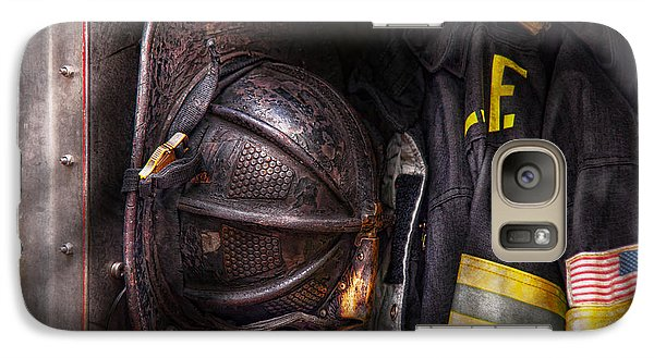Fireman - Worn And Used Galaxy S7 Case