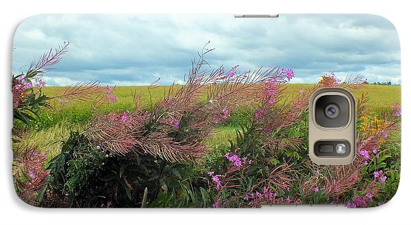 Galaxy Case featuring the photograph Fireweed by Gene Cyr
