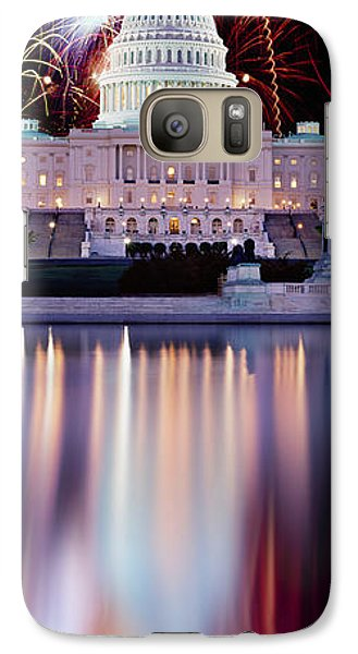 Firework Display Over A Government Galaxy Case by Panoramic Images