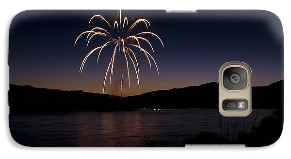 Galaxy Case featuring the photograph Fireworks 11 by Sonya Lang