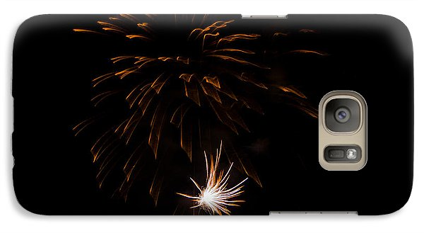 Galaxy Case featuring the photograph Fireworks 2 by Susan  McMenamin