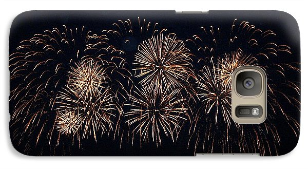 Galaxy Case featuring the photograph Fireworks by Gerry Bates