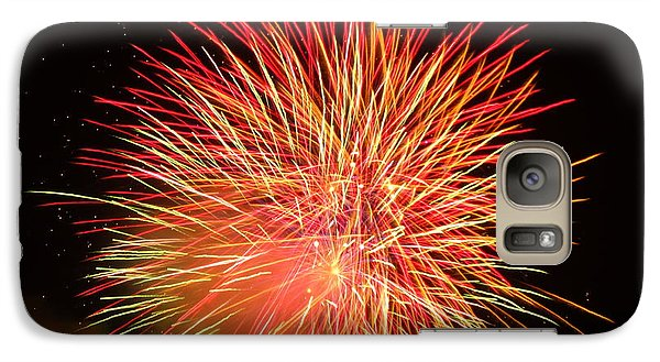 Galaxy Case featuring the photograph Fireworks  by Michael Porchik