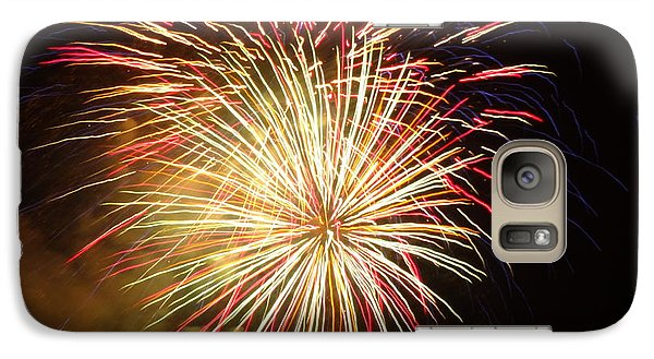 Galaxy Case featuring the photograph Fireworks Over Chesterbrook by Michael Porchik