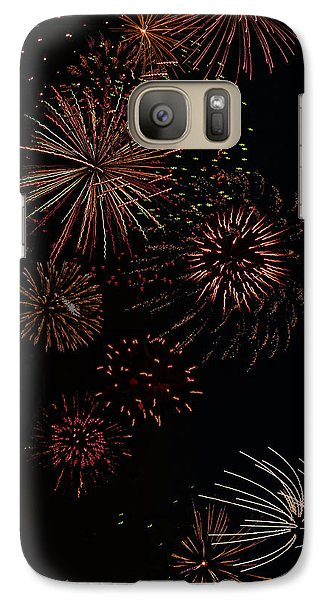 Galaxy Case featuring the photograph Fireworks - Phone Case Design by Gregory Scott