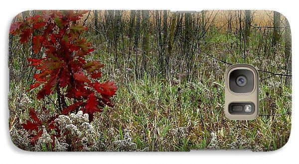 Galaxy Case featuring the photograph First Autumn II by Kimberly Mackowski