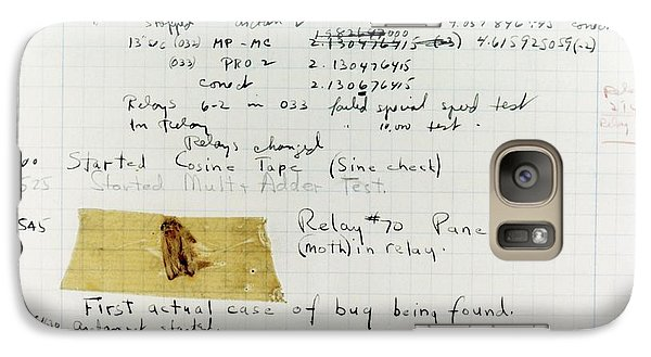 First 'computer Bug' Galaxy Case by Us Navy, Us Naval Historical Center