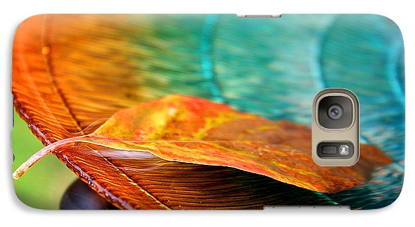 Galaxy Case featuring the photograph First Leaf by Greg Simmons