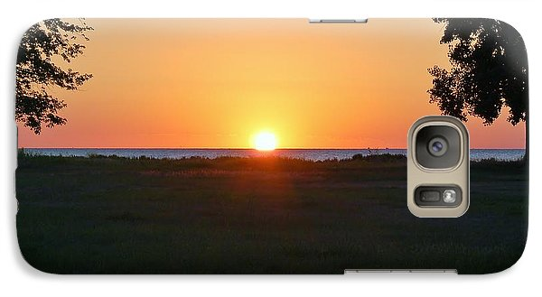 Galaxy Case featuring the photograph First Light by Patrick Shupert