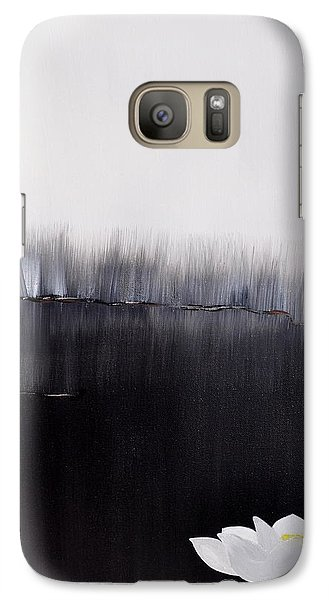 Galaxy Case featuring the painting First Memory by Christine Ricker Brandt