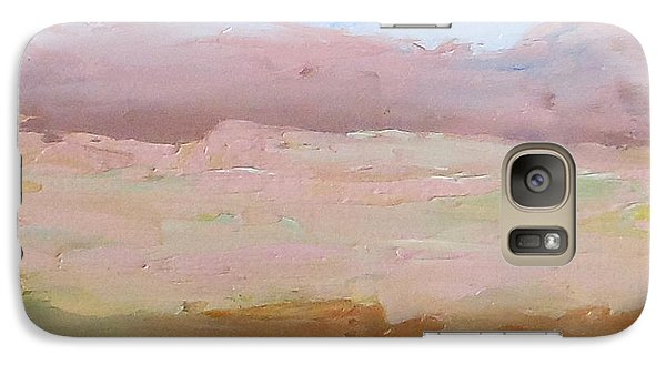 Galaxy Case featuring the painting First Mesa by Fred Wilson