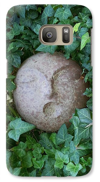 Galaxy Case featuring the sculpture First People by Kristen R Kennedy