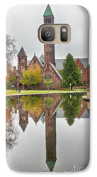 Galaxy Case featuring the photograph First Presbyterian Church by Jim Lepard