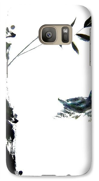 Galaxy Case featuring the painting First Reflection by Bill Searle