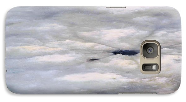 Galaxy Case featuring the photograph First Thaw by Nadalyn Larsen