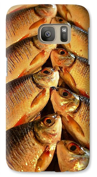 Galaxy Case featuring the photograph Fish For Sale by Henry Kowalski