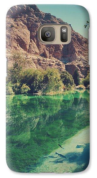 Desert Galaxy S7 Case - Fish Gotta Swim by Laurie Search