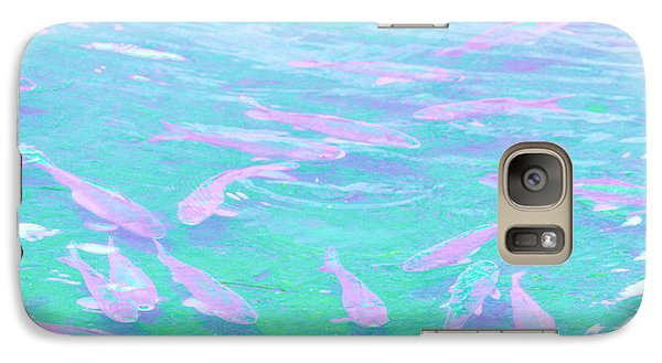 Galaxy Case featuring the photograph Fish by Rachel Mirror