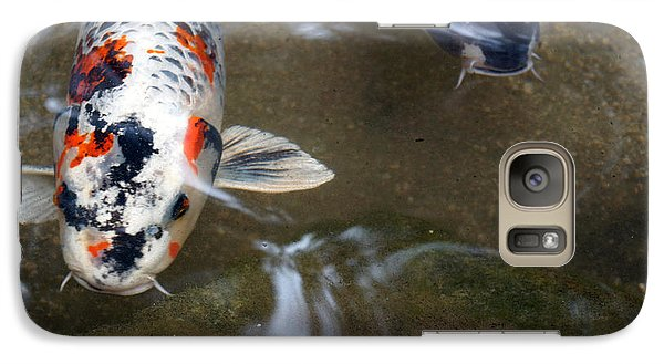 Galaxy Case featuring the photograph Fish Scales by Cassandra Buckley