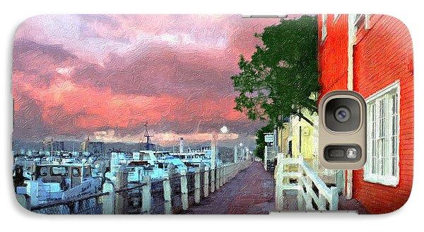 Galaxy Case featuring the photograph Fisherman's Village Marina Del Mar Ca by David Zanzinger