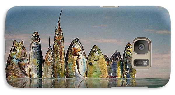 Fishhattan Galaxy S7 Case by Juan  Bosco