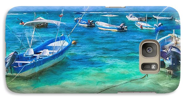 Fishing Boats Galaxy S7 Case