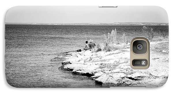 Galaxy Case featuring the photograph Fishing by Erika Weber