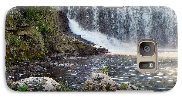 Galaxy Case featuring the photograph Fishing Hole by Deb Halloran