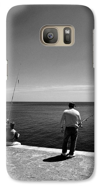 Galaxy Case featuring the photograph Fishing by Luis Esteves
