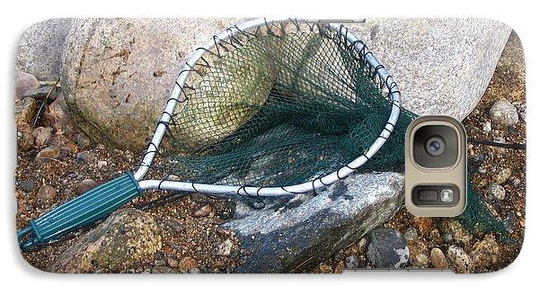 Galaxy Case featuring the photograph Fishing Net by Kerri Mortenson