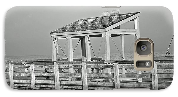 Galaxy Case featuring the photograph Fishing Pier by Tikvah's Hope