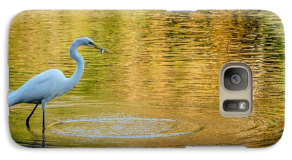 Galaxy Case featuring the photograph Fishing by Wade Brooks