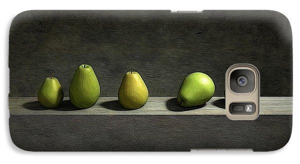 Five Pears Galaxy S7 Case by Cynthia Decker