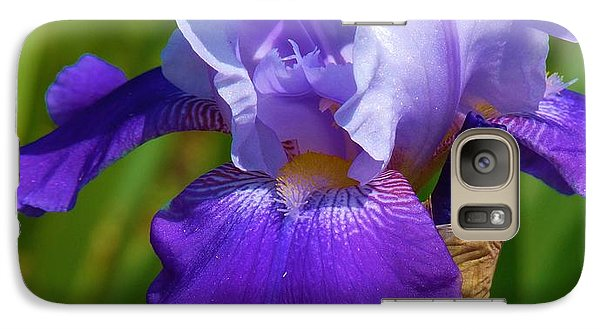 Galaxy Case featuring the photograph Flag Flying Proudly by Jeanette Oberholtzer