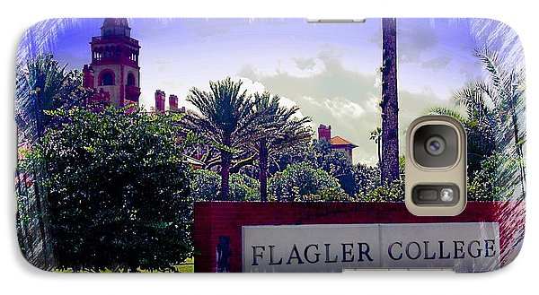 Galaxy Case featuring the photograph Flagler College St Augustine by Bob Pardue
