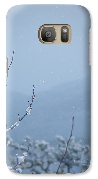 Galaxy Case featuring the photograph Flakes by Brian Boyle