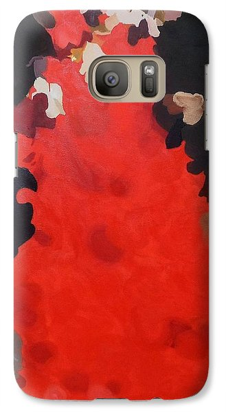 Galaxy Case featuring the painting Flamenco by Cherise Foster