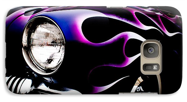 Galaxy Case featuring the photograph Flaming Classic by Joann Copeland-Paul