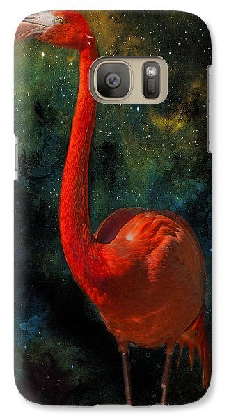 Galaxy Case featuring the photograph Flamingo No 1 by James Bethanis